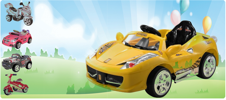 Mega Direct - Ride-on Toy Cars