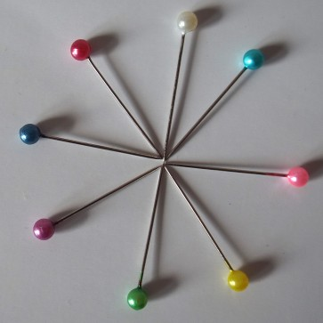 Multicolour Straight Pins