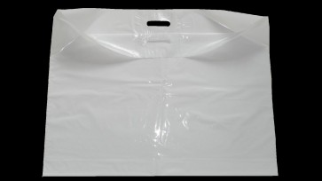"""Extra Large  29""""x22"""" Strong White Patch Handle Plastic Carrier Bags"""