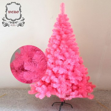 Weedoo XMAS SALE: 1.8m/6ft Pink Artificial Luxury Christmas Tree pvc