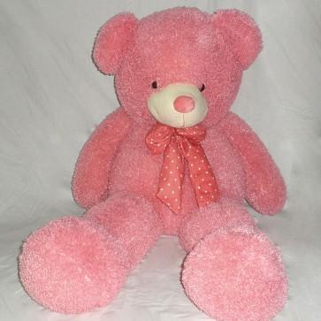 Weedoo Huge/Very Large 5kg Pink Teddy Bear With Bow Tie, XMAS Gift PK& uk stock
