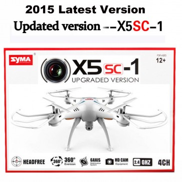 Syma X5SC-1 Drone 4 Channel 2.4GHz RC Explorers Quad Copter with Camera
