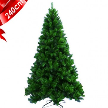 Weedoo XMAS SALE: 2.4m/8ft Luxury Thick Branches Artificial Luxury Christmas Tree pvc