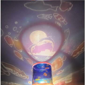 Weedoo  Ocean Master LED Projector Children Kids Bedroom Night Light LED Lamp USB Xmas
