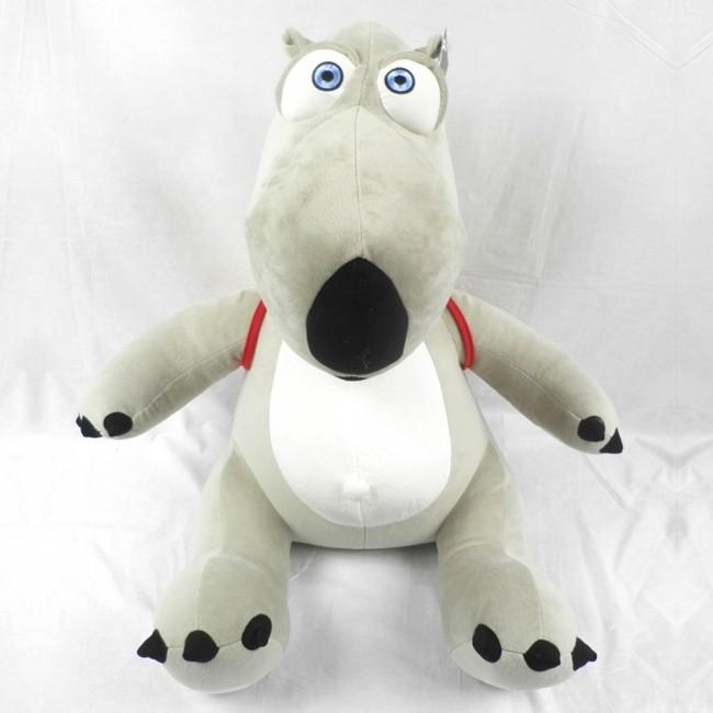 Bernard Polar Bear With Back Bag Backkom Cartoon