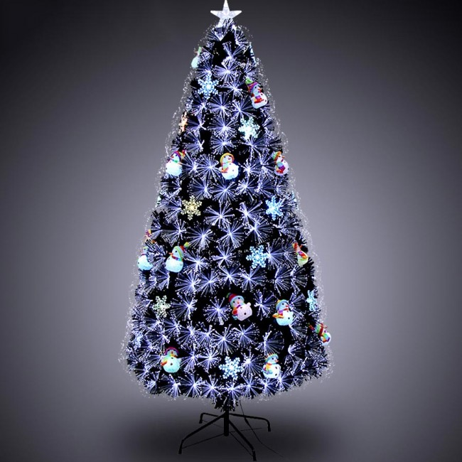 Luxurious Christmas Trees: Weedoo XMAS SALE: 6FT Fiber Optic Artificial Luxury