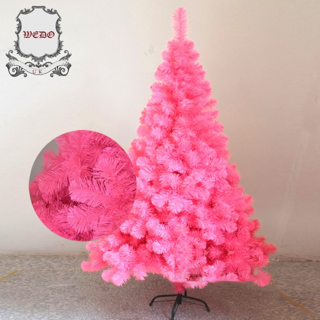 Pink Christmas.Weedoo Xmas Sale 1 8m 6ft Pink Artificial Luxury Christmas Tree Pvc