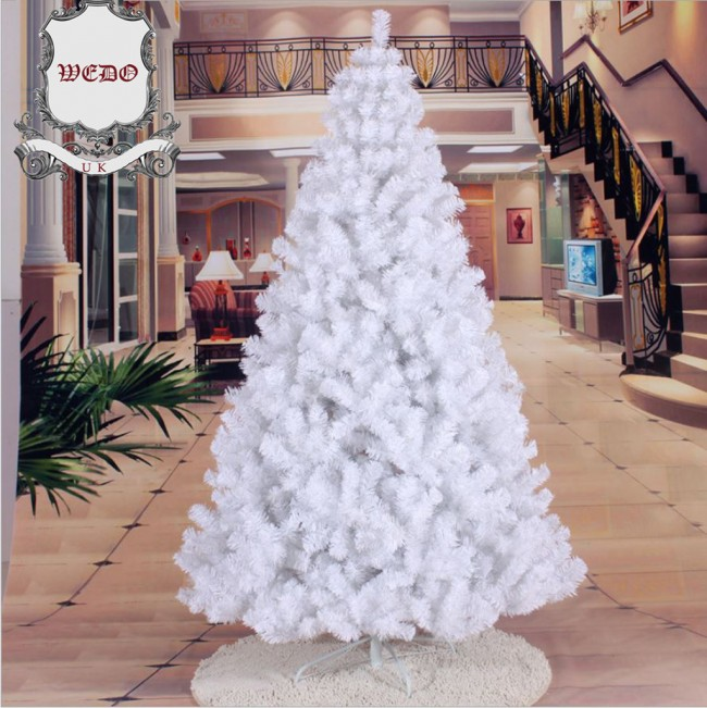 2 Ft White Christmas Tree: 1.8m/6ft White Artificial Christmas Tree