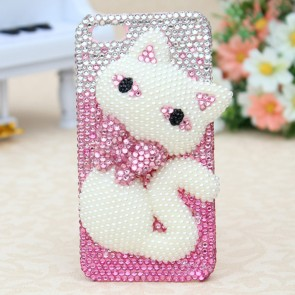 Weedoo  3D Crystal Crystal Bling Hello Kitty Case for iPhone 6 Luxury Christmas Present