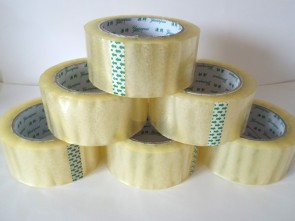Clear 6 Rolls Clear 48mmx66m Parcel Tape Cellotape Packaging Carton Sealing 2inch wide