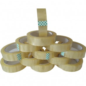 Clear 25mm x 66m Parcel Tape