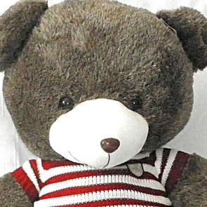 Weedoo Gaint Dark Brown Soft Plush Teddy Bear with Sweater Xmas Gift Pack UK Stock …
