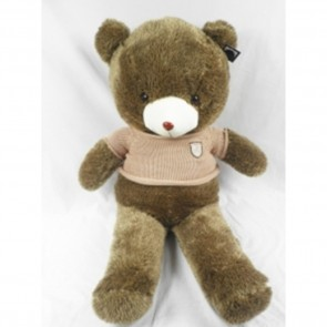 Weedoo New year Gift Giant/Huge Soft Hedgehog Style Plush Bear with Khaki Sweater