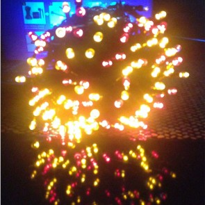Weedoo XMAS SALE: 200 LED Multi-Action Christmas Solar Tree Lights