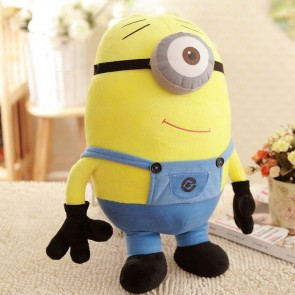 Huggable Despicable Me 2 Minion Plush Backpack One Eye Minion