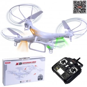 Weedoo Xmas Gift Syma X5 Explorers Quadcopter Drone 2.4G, 4 Channel