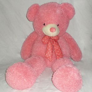 Weedoo Huge/Very Large 5kg Pink Teddy Bear With Bow Tie, XMAS Gift PK& uk stock