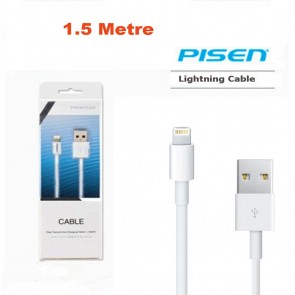 Weedoo Premium Quality 1.5M Genuine PISEN Lightning Charging Cable for iPhone 5/6/6s/SE