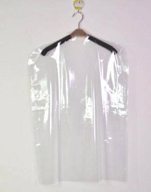 "60"" Weedoo Clear Polythene Garment Covers Clothes Suit Dress Plastic Bags Poly roll Protect"