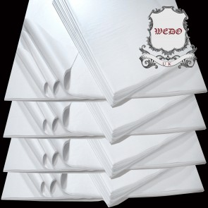 "Weedoo 15""x20"" White Tissue Paper Acid Free For Clothes Packaging Wrapping Handcraft"