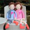 Weedoo Xmas Gift Sale:Giant Soft Plush Soft Boy and Girl